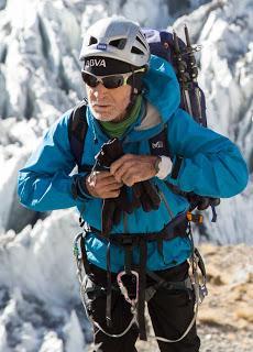 """Projecció del documental """"Alpinismo después de los 70"""", de Carlos Soria. Font: blog del Cicle d'Audiovisuals de Muntanya"""