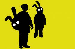 """Representació de """"Fuga de conills"""". Font: web de la Sala la Planeta"""
