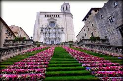 """""""Girona, Temps de Flors"""". Imatge extreta del web http://www.viajarsinbillete.com"""