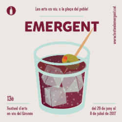 Emergent, XIII Festival d'Arts Escèniques del Gironès. Font: Facebook