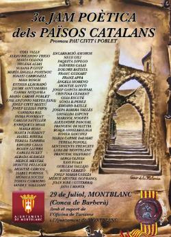 3a Jam Poètica del Països Catalans