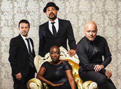 Black Cherry Swing, concert de Janine Johnson quartet