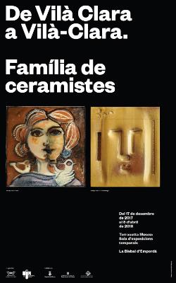 """Exposició """"De Vilà Clara a Vilà-Clara. Família de ceramistes"""". Font: web de l'Ajuntament de La Bisbal d'Empordà"""