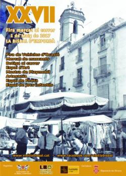 XXVII Fira Mercat al carrer de La Bisbal d'Empordà. Font: labisbal.cat