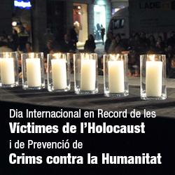 Acte en record de les víctimes de l'Holocaust