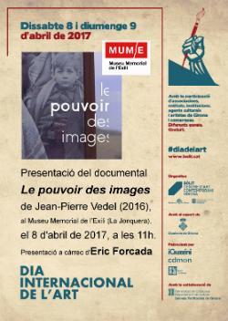 Projecció del documental Le pouvoir des images, de Jean-Pierre Vedel (2016)