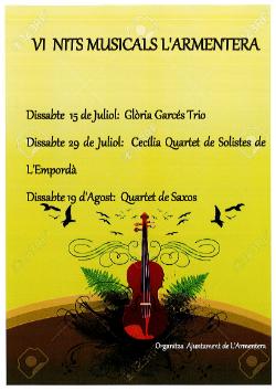 VI Nits Musicals  a L'Armentera
