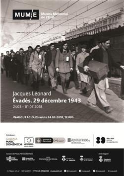 """Exposició """"Évadés. 29 décembre 1943"""", de Jacques Léonard. Font: Museu Memorial de l'Exili (MUME)"""