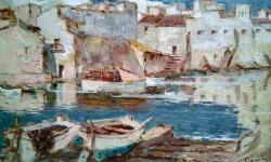"""Exposició """"Rafel Ramis, pintor de marines"""". Font: Museu de L'Escala"""