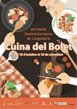 """Jornades gastronòmiques """"Cuina del bolet"""" 2017 a Llagostera. Font: web de la Fira"""