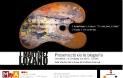 Presentació d'El llibre de J. Martínez Lozano