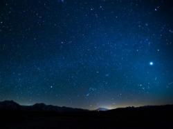 Nit d'estels a l'Albera. Font: web de Turisme de Llançà