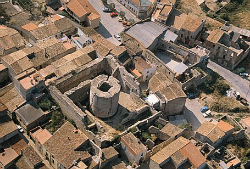 Vista aèria de Llers. Font: enciclopedia.cat