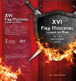 XVI Fira Medieval de Lloret de Mar.  Font: web de l'ajuntament