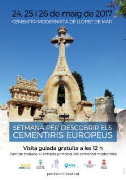 Visites guiades al Cementiri Modernista de Lloret de Mar. Font: Patrimoni de l'Ajuntament de Lloret de Mar
