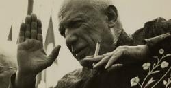 Exposició 'Lucien Clergue: vint-i-set encontres amb Picasso'. Fotografia