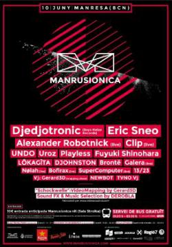 Manrusionica 2017, Festival de Música Electrònica de la Catalunya Central