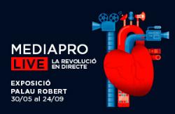 Exposició 'MEDIAPRO LIVE, la revolució en directe'