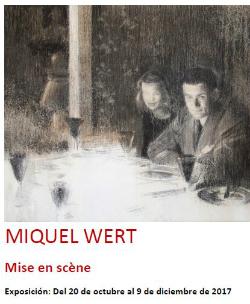 Exposició 'Mise en Scène', de Miquel Wert