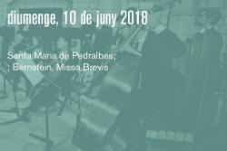 Concert de la Missa Brevis de Leonard Bernstein