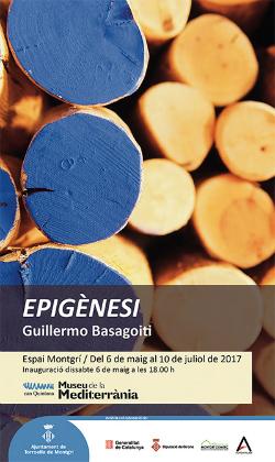 """Exposició d'escultures """"Epigènesi"""", de Guillermo Basagoiti. Font: web del Museu de la Mediterrània"""