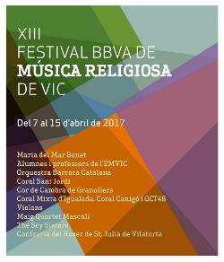 XII Festival BBVA de Música Religiosa de Vic