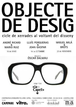Cicle de conferències 'Objecte de desig'