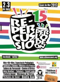15è Festival Re-percussió per l'Odèon 2017