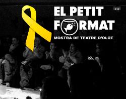 """Mostra de Teatre d'Olot """"El petit format"""". Font: Facebook"""
