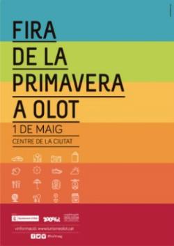 Fira de la Primavera a Olot 2017. Font: www.agendaolot.cat