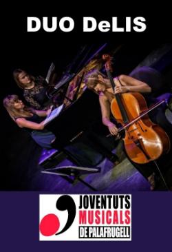 Concert del Duo DeLis. Font: web de Palafrugell Cultura