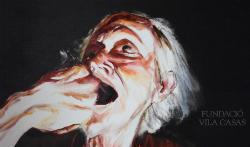 Exposició 'Resolució extrema. Homenatge al meu amic Dídac García', de Víctor Dolz. Pintura