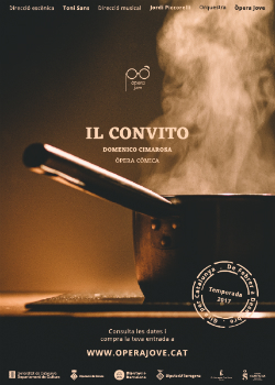 """Espectacle """"Il convito"""", de Domenico Cimarosa amb Òpera Jove. Font: web de Joventuts Musicals de Palafrugell"""
