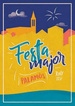 Festa Major de Palamós 2017. L'autora del cartell és la palamosina Lorena Clot Gallardo. Font: web de Turisme de Palamós