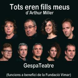 """Representació de """"Tots eren fills meus"""", d'Arthur Miller. Font: web del Teatre la Gorga"""