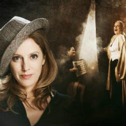 """Espectacle """"Cabareta"""", de Maria Molins i Bàrbara Granados. Font: web del Teatre La Gorga"""