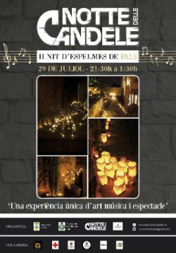 II Nit de les Espelmes de Pals. Font: pals.cat (Ajuntament de Pals)