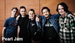 Actuació de Pearl Jam