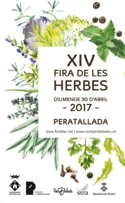 XIV Fira de les Herbes de Peratallada. Font: web de l'Ajuntament de Forallac