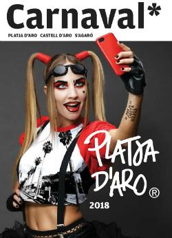 Carnaval de Platja d'Aro 2018. Font: web de l'Ajuntament de Castell-Platja d'Aro