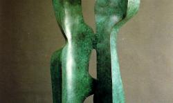 Exposició de Clemente Ochoa. Escultures de gran format