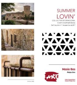 """Exposició col·lectiva """"Summer Lovin'"""". Font: Ajuntament de Castell-Platja d'Aro"""