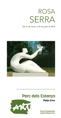 """Exposició """"Escultures a cel obert"""", de Rosa Serra. Font: Ajuntament de Castell-Platja d'Aro"""