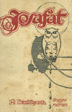 Mostra literària de Josafat (primera edició de 1906 de la impremta Ribas de Palafrugell). Font: web del Museu del Suro