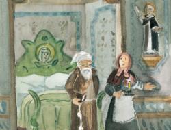Lectura del conte El frare escalfallits , de Joaquim Ruyra
