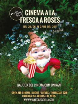 Cinema a la fresca a Roses 2017. Font: guiaderoses.net