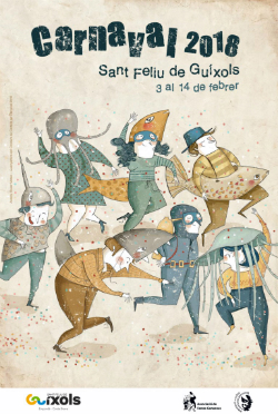 Carnaval de Sant Feliu de Guíxols 2018 (l'autora és Roser Matas Nadal). Font: web de l'ajuntament