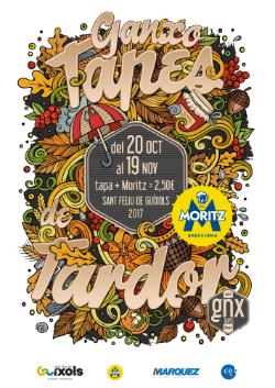 Ganxotapes de la tardor de 2017. Font: web de l'Ajuntament de Sant Feliu de Guíxols