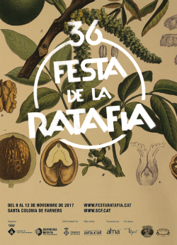 XXXVI Festa de la Ratafia de Santa Coloma de Farners. Font: el seu web