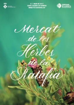 IV Mercat de les Herbes de la Ratafia de Santa Coloma de Farners. Font: confrariaratafia.cat